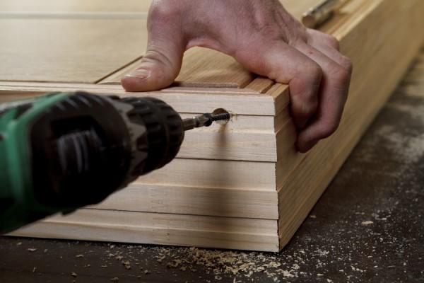Как сделать коробку для двери