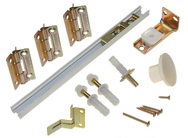 Набор фурнитуры для изготовления двери-гармошки