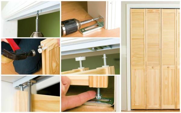 Инструкция по монтажу двери-гармошки