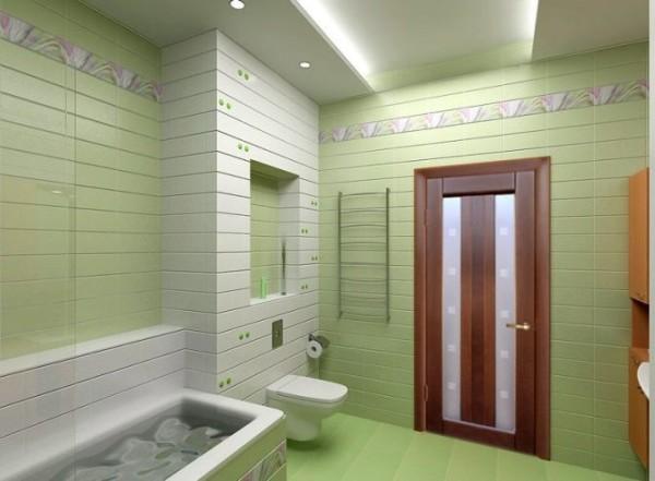 Дверь в ванной должна быть влагостойкой