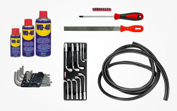 Набор инструментов для ремонта двери