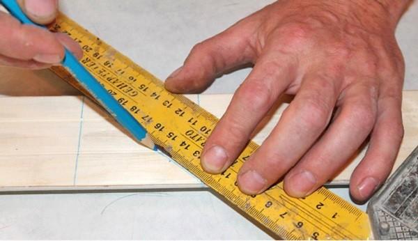 Важна точность разметки наличников