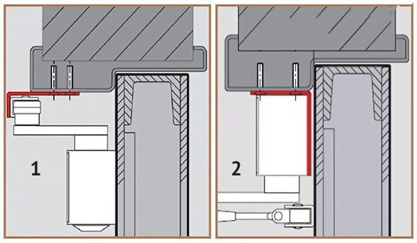 Нестандартные способы установки доводчика