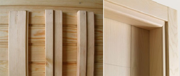 Элементы дверной коробки