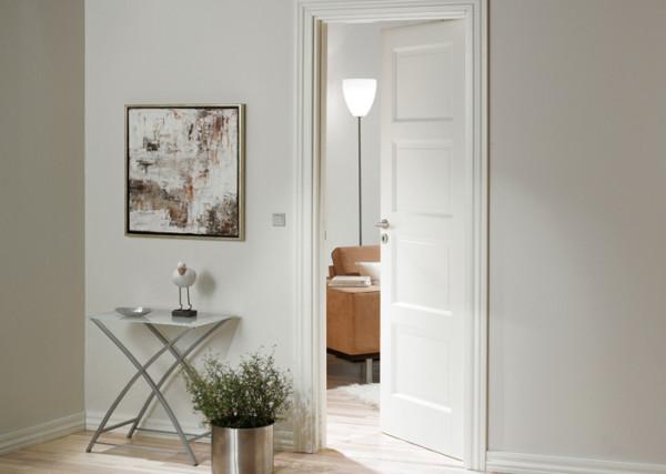 Филенчатые двери в интерьере