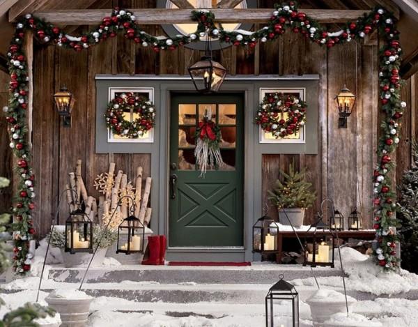 Новогодние украшения дома своими руками фото