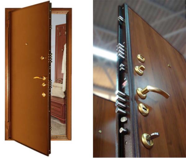 Входня дверь должна выполнять защитную функцию