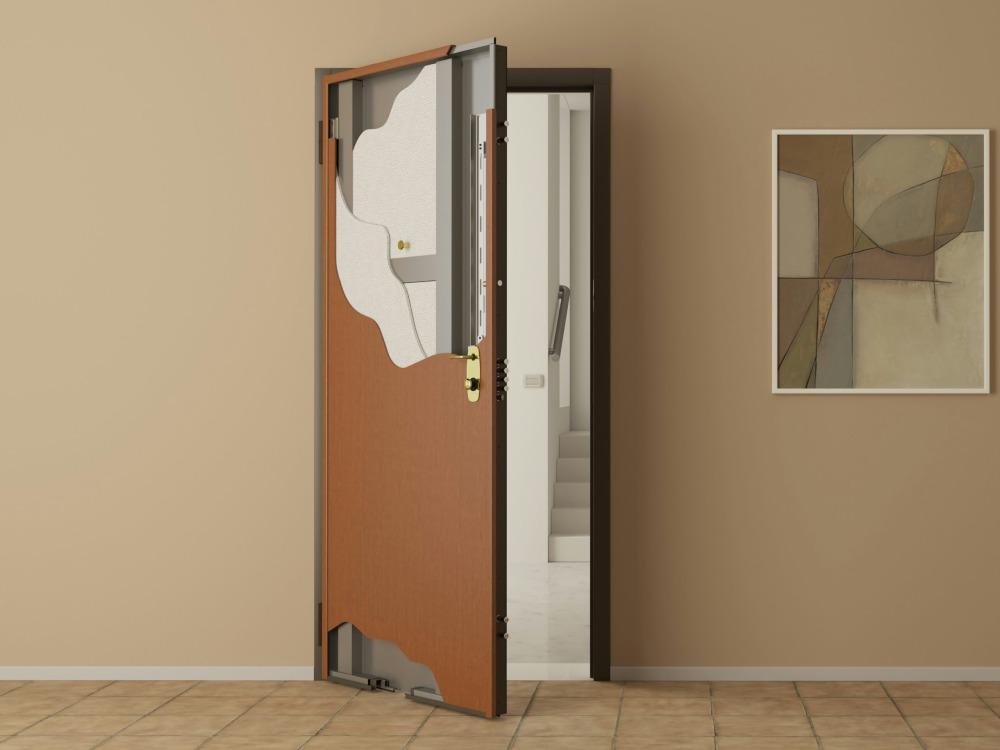 выбор стальной двери в квартиру