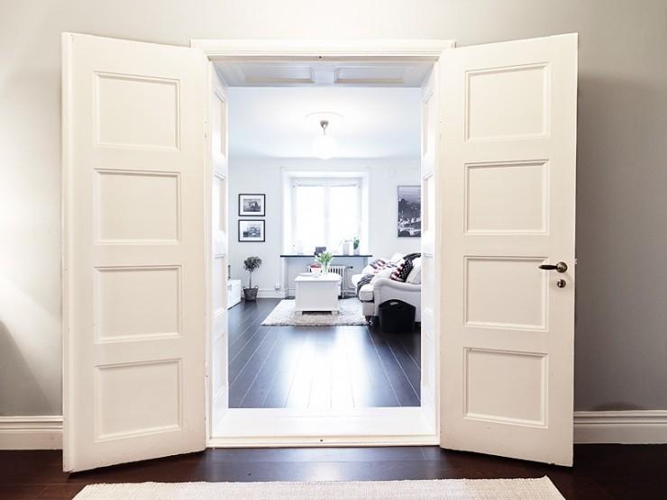 Входная дверь Conex - Модель 59 Дуб Тёмный орех