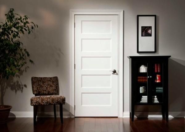 Облагороженная дверь