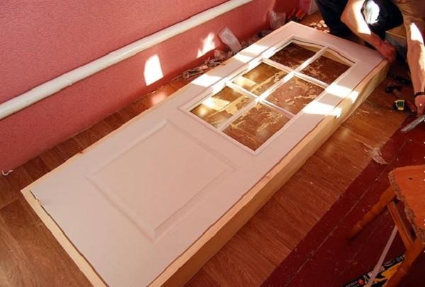 Установка коробки межкомнатной двери своими руками