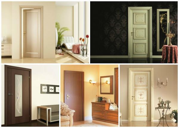 Варианты дизайна дверей