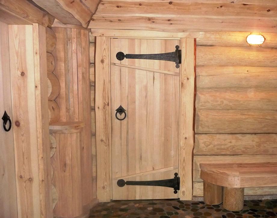 Сделать дверь из вагонки в бане своими руками