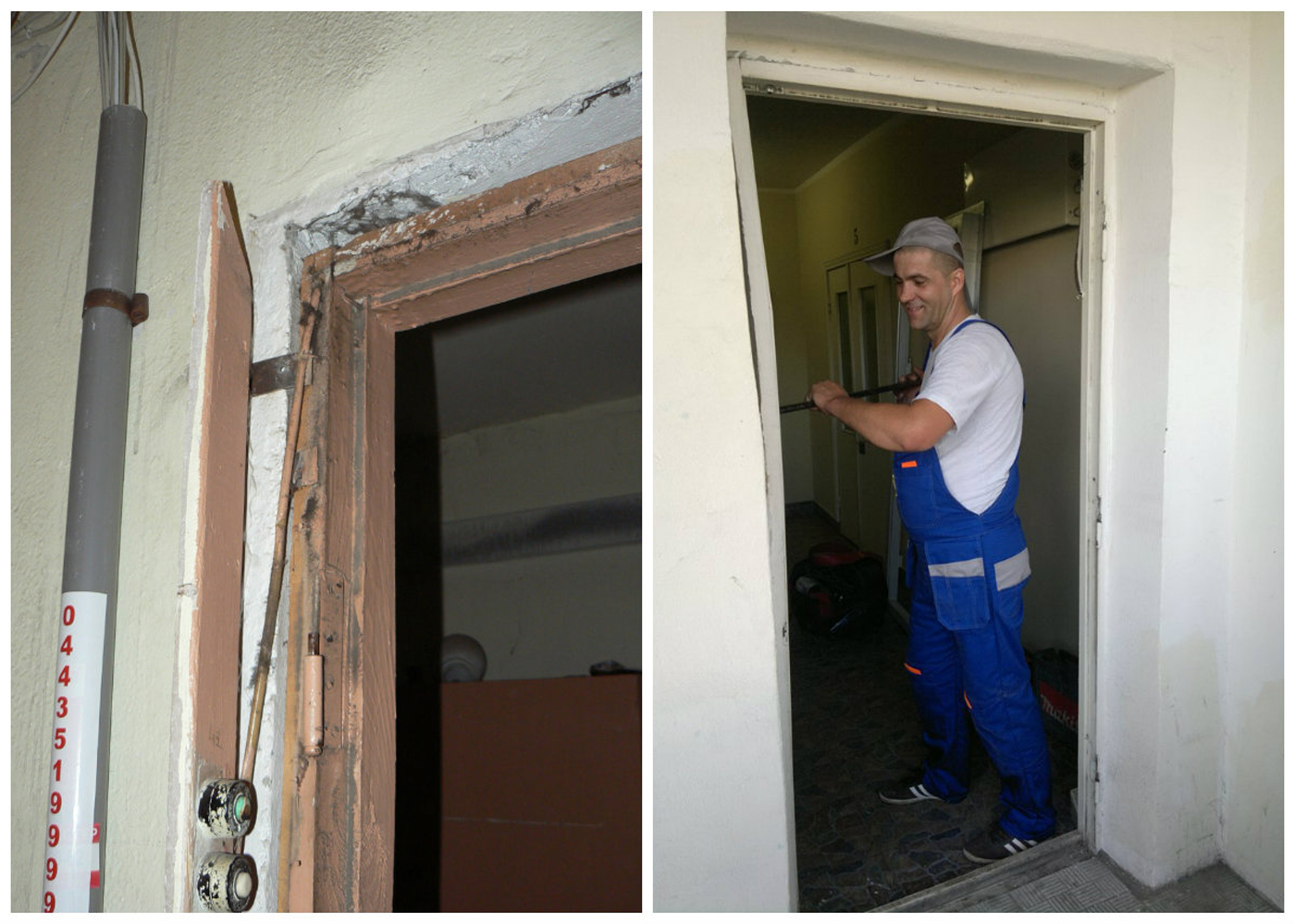 расценки на демонтаж и монтаж входной двери