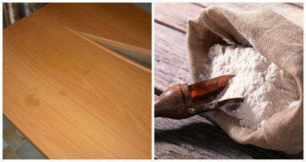 Чем очистить жирные пятна на мебели в кухне фото