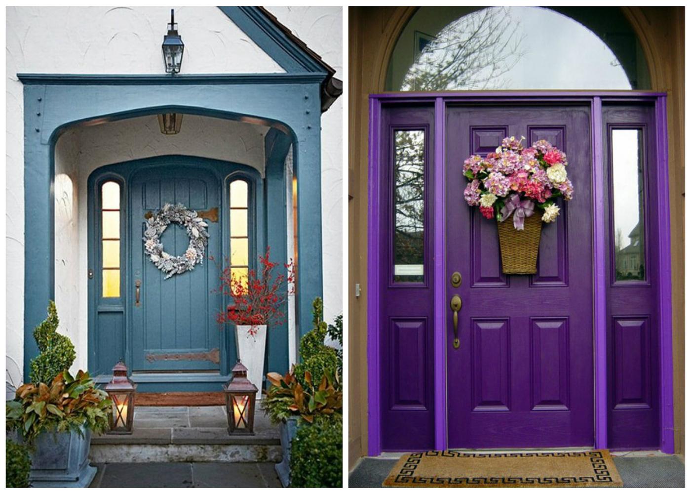 100 лучших идей: Декор двери своими руками на фото - Рататум 53