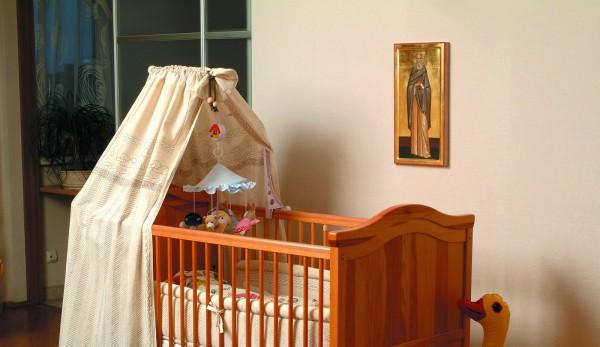 Икона в детской комнате