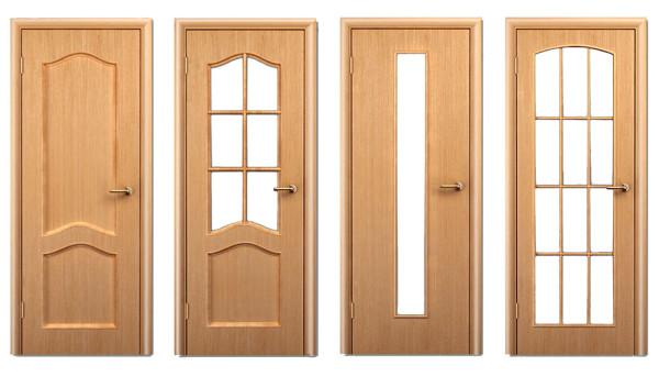 Варианты филенчатой двери