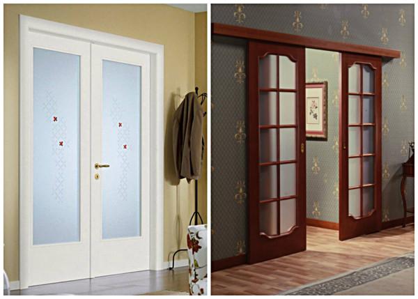 Типы открывания двери