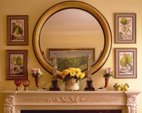 Цветы перед зеркалом