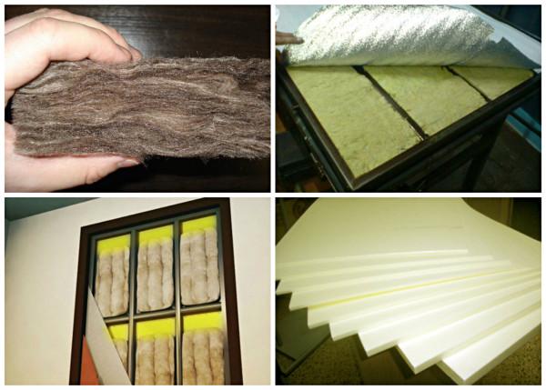 Разновидности шумоизоляционных материалов для двери