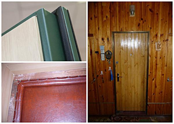 Варианты накладных панелей для двери