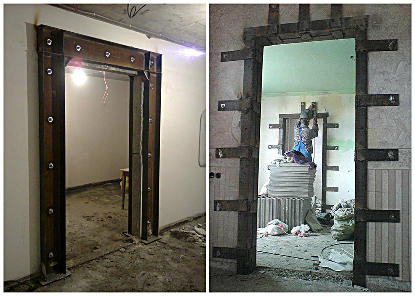 Как сделать проем для двери в панельном доме