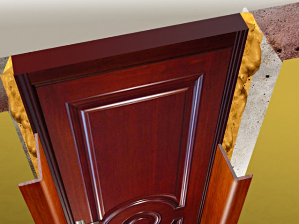 Правильная отделка откосов входной двери