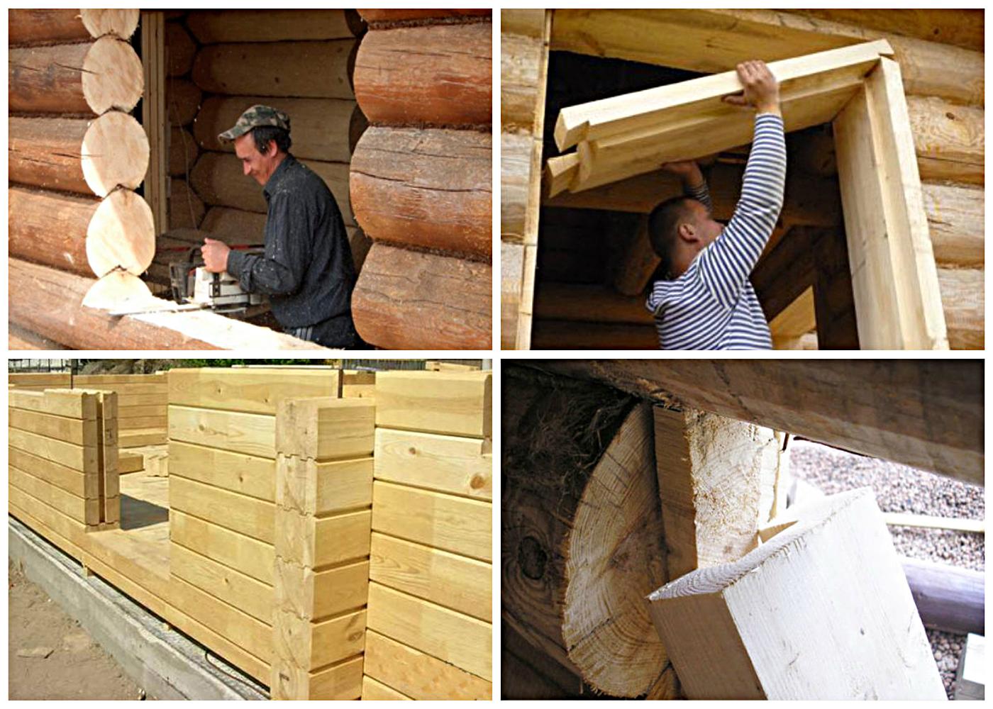 Как сделать дверной проём в деревянном доме 950
