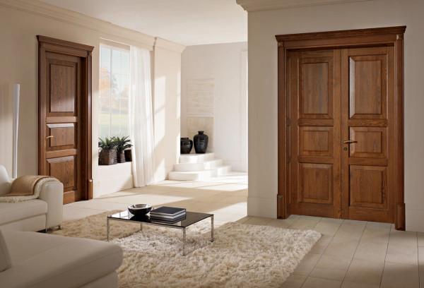 Двупольные и однопольные двери в интерьере