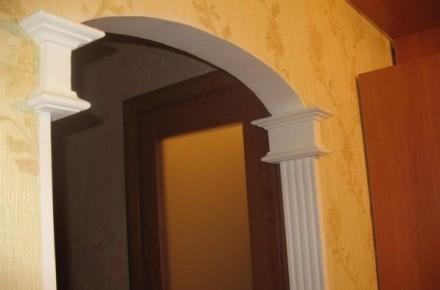 как украсить арку в квартире