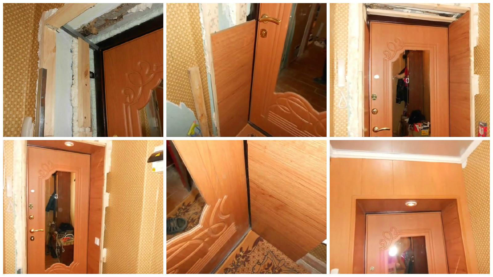 Отделка дверей своими руками видео фото 564