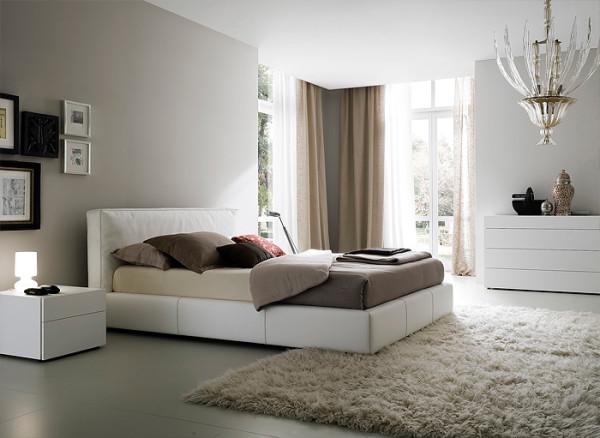 Правильно расположенная кровать
