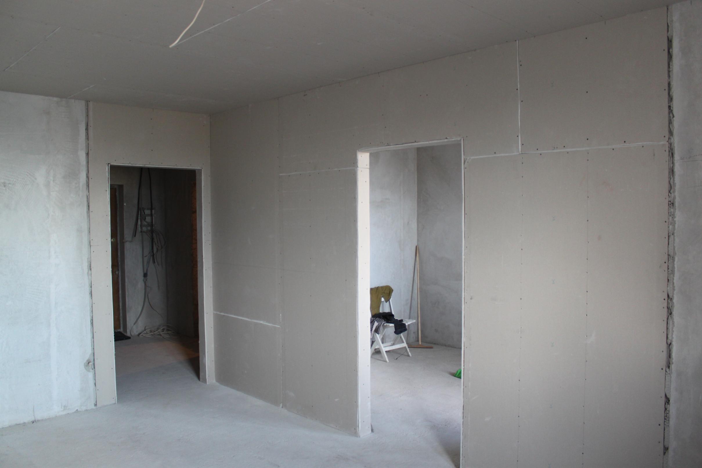 Делаем межкомнатные стены фото