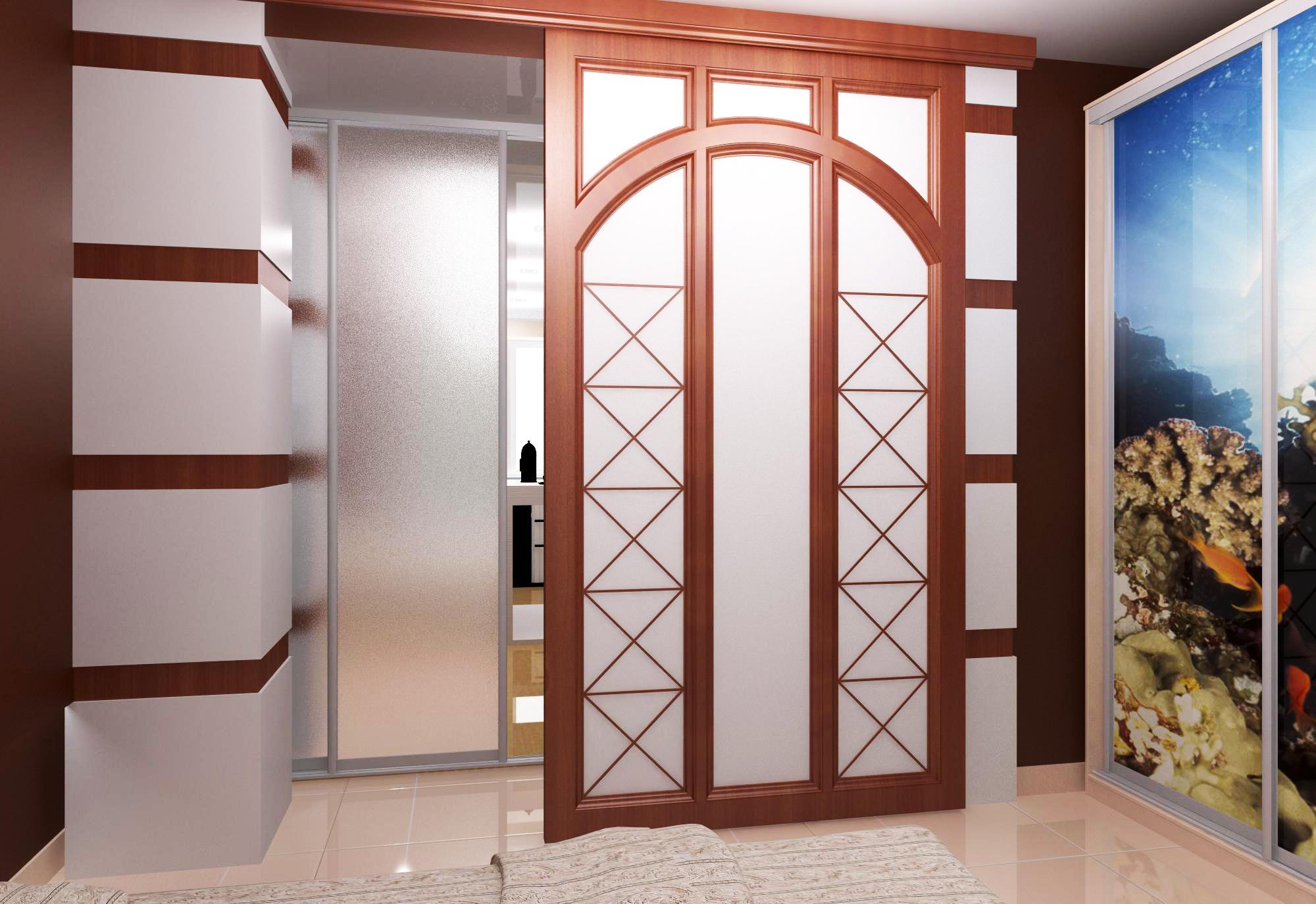 размеры межкомнатных дверей с коробкой ширина высота толщина