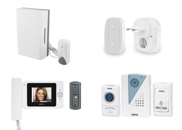 Разновидности дверных звонков