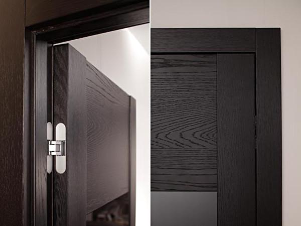 Скрытая модель петли на межкомнатных дверях