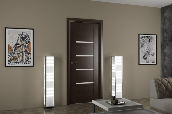 От материала двери зависят характеристики полотна