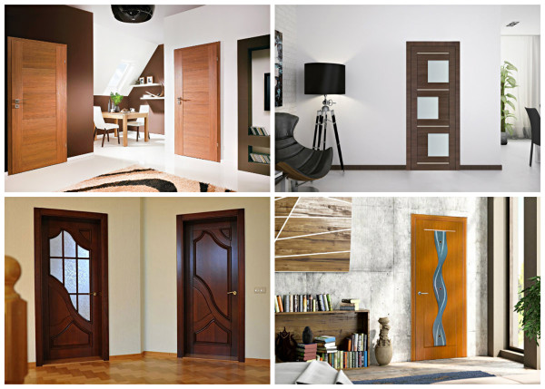 Разновидности покрытий межкомнатных дверей