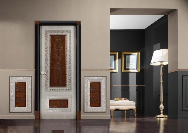 Необычный дизайн межкомнатной двери
