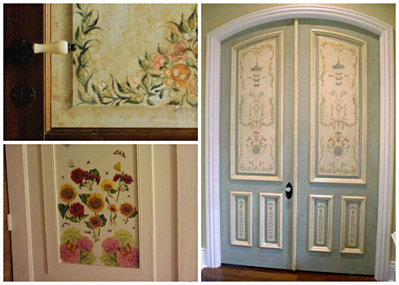 Идеи для декора дверей своими руками 94