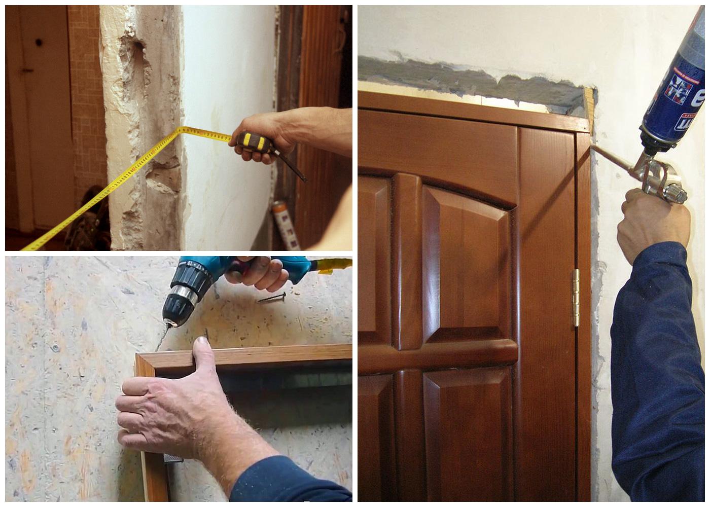 Как правильно своими руками установить межкомнатные двери своими руками 20
