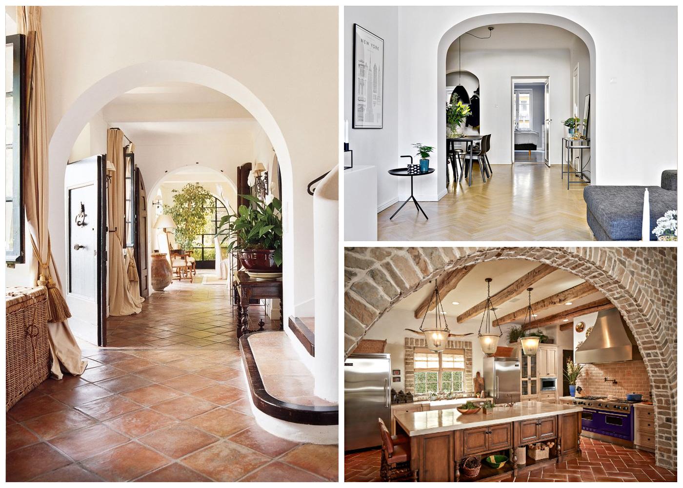 Арки в гостиной дизайн