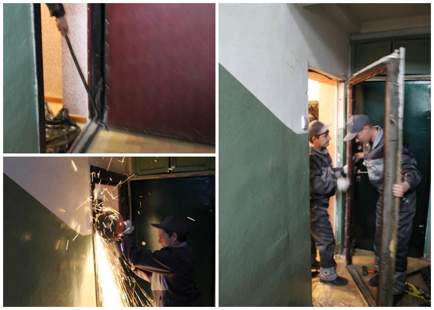 как аккуратно демонтировать входную дверь Marmot имеет следующие