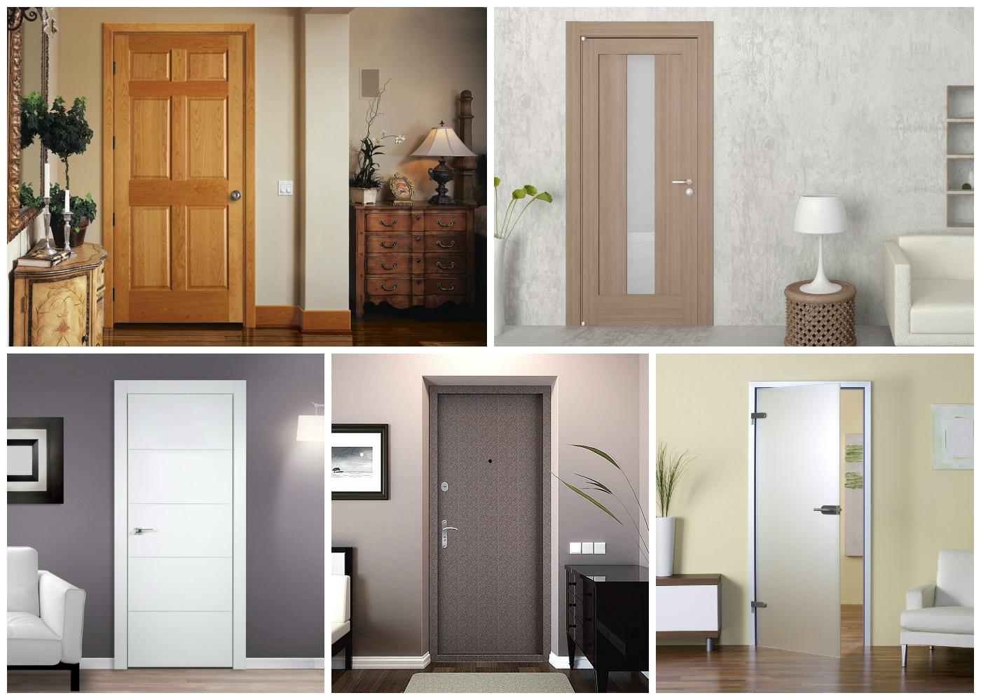 Межкомнатные двери в дизайне квартиры 105