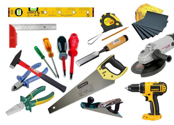 Набор инструментов для изготовления двери