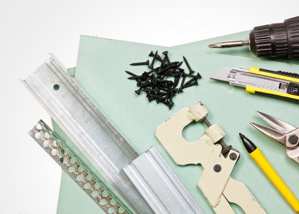 Инструменты для создания арки из гипсокартона