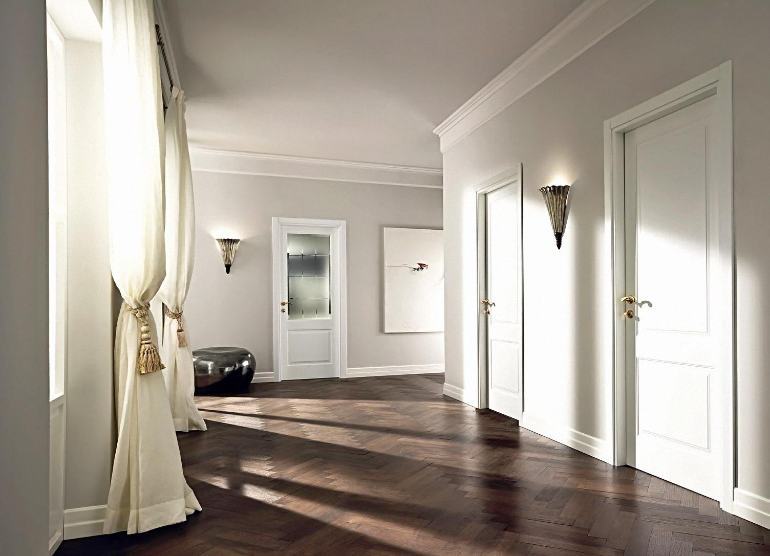 двери в интерьере квартиры дизайн межкомнатных и входных дверей