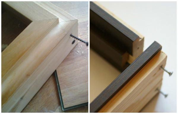 Коробка для двери своими руками из дерева 8