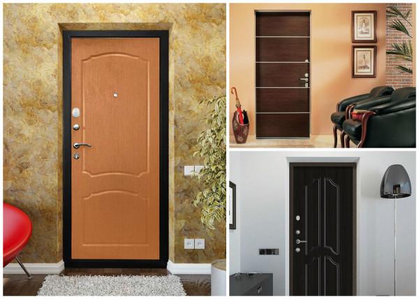 Варианты входных дверей в интерьере